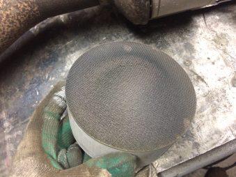 Физическое удаление катализаторов и сажевых фильтров