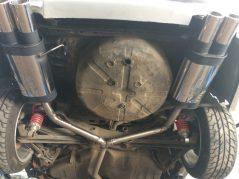 Opel vectra B двойной выхлоп Remus