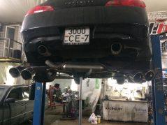 Выхлоп Nissan GT-R для Infiniti G37S