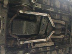 Lexus IS изготовление новых приемных труб