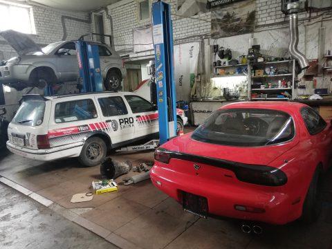 Восстановление кузова дрифтовой Сары (форд сиерра)